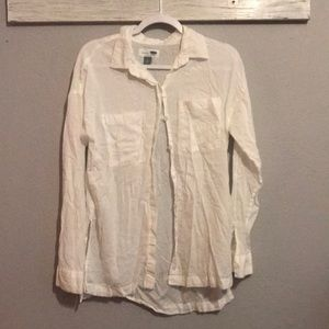 Old Navy thin button down